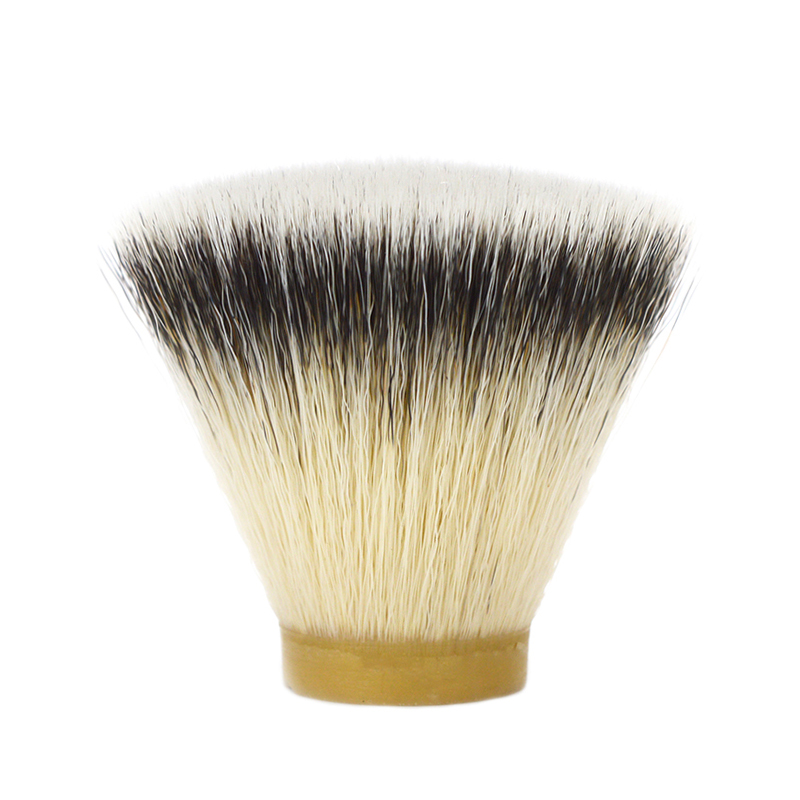 DSCOSMETIC 26MM  High Quality Soft Synthetic Fiber Flat Top Shaving Brush Knots For Man Shaving Brush