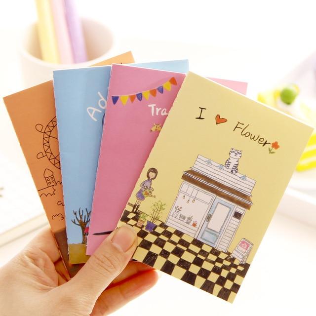 12 x 8 5cm cute cartoon planner cute pocket personal diary note