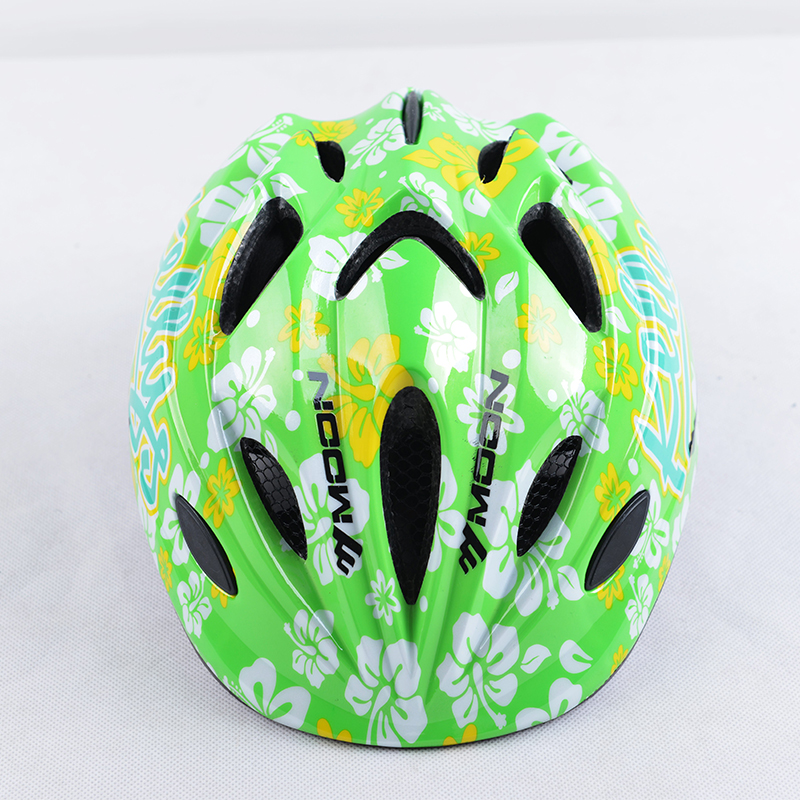 18 MOON Sports Safety KIDS helmet Integrally Molded Boys and girls bicycle cycling helmet Kid Skating protector Cycling helmet