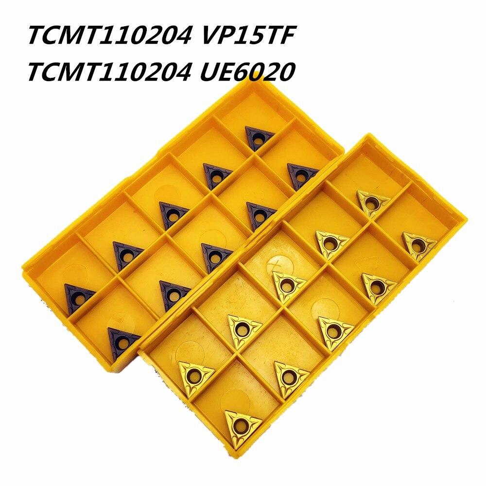 Carbide Insert TCMT110204 VP15TF UE6020 Metal Turning Tool External Turning Tools CNC Tool Lathe Tool TCMT 110204 Milling Cutter