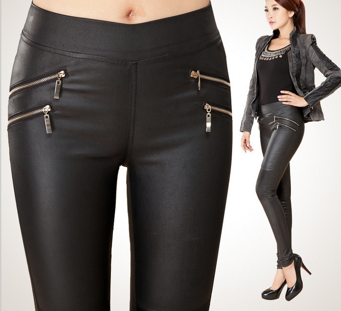 Wonderful Latest Leather Pants For Women  Wallpapers Pictures Fashion Mobile