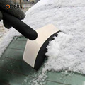 Stainless steel snow shovel Winter car deicing eradicate snow shovel Solid Ice Scraper 	CR0069