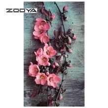 ZOOYA Алмазная вышивка распродажа полная алмазная живопись цветы рукоделие DIY Алмазная мозаика картина Стразы 3D Декор RF1645