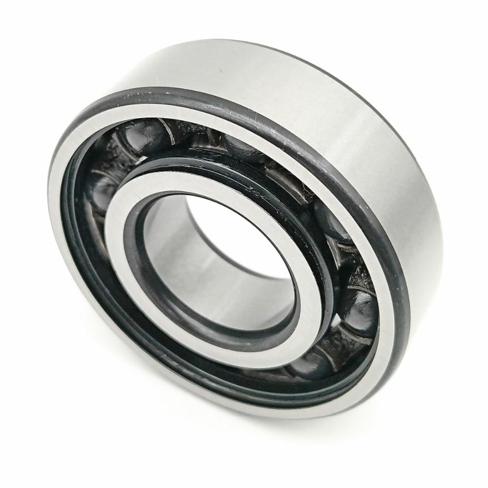 1pcs MOCHU Bearing 6204 6204-2RS1 TN9 HQ1 P53 6204 20x47x14 Hybrid Ceramic Ball Bearings Single Row Si3N4 Ball ABEC-5