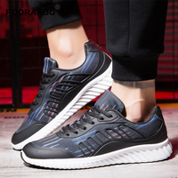 2018 Men Shoes Men Casual Shoes Summer Lace Up Style Breathable Lace Up Flats Fashion Light
