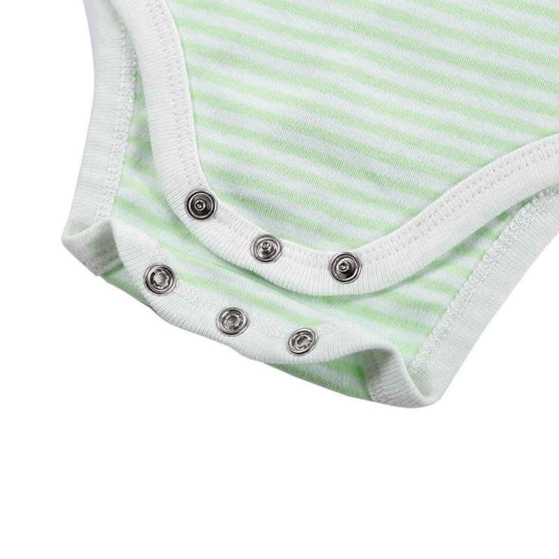 3 Pieceslot Baby Fashion Striped Short Sleeve Rompers Children Jumpsuit Newborn Boys Girls Clothes Body Roupa de bebe Overalls (69)
