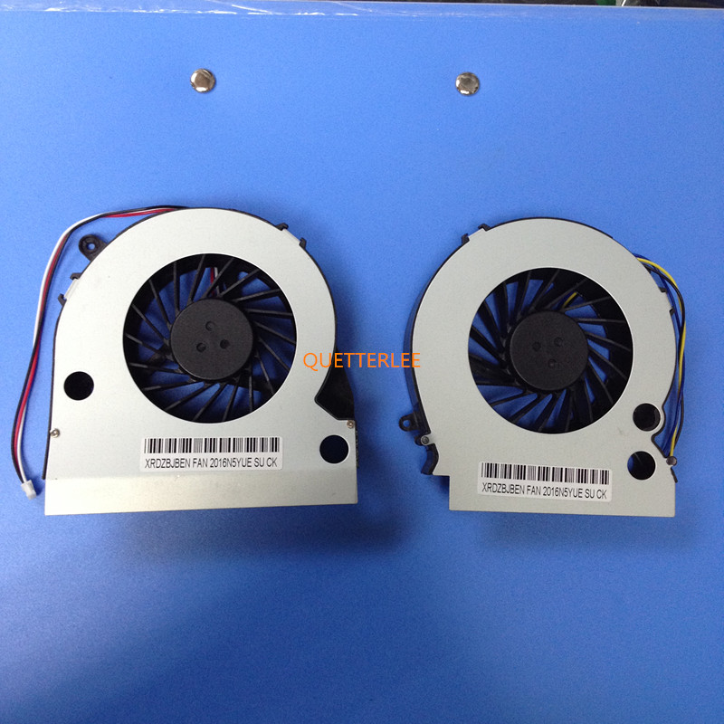 Pair for New CPU Cooling Fan for Lenovo B500 B505 B510 B50r1 B5R All In One Desktop Computer