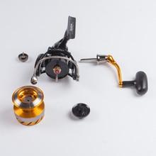 Original Daiwa Spinning Fishing Reel REVROS A series 5 Ball Bearing Saltwater Freshwater Carp Feeder Wheel with Air Rotor
