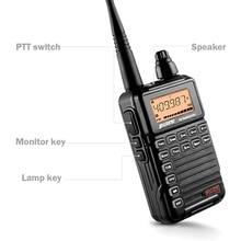 Rádio portátil de puxing PX 2R walkie talkie 2 w 128ch uhf 400 470 mhz em dois sentidos transceptor portátil walkie talkie