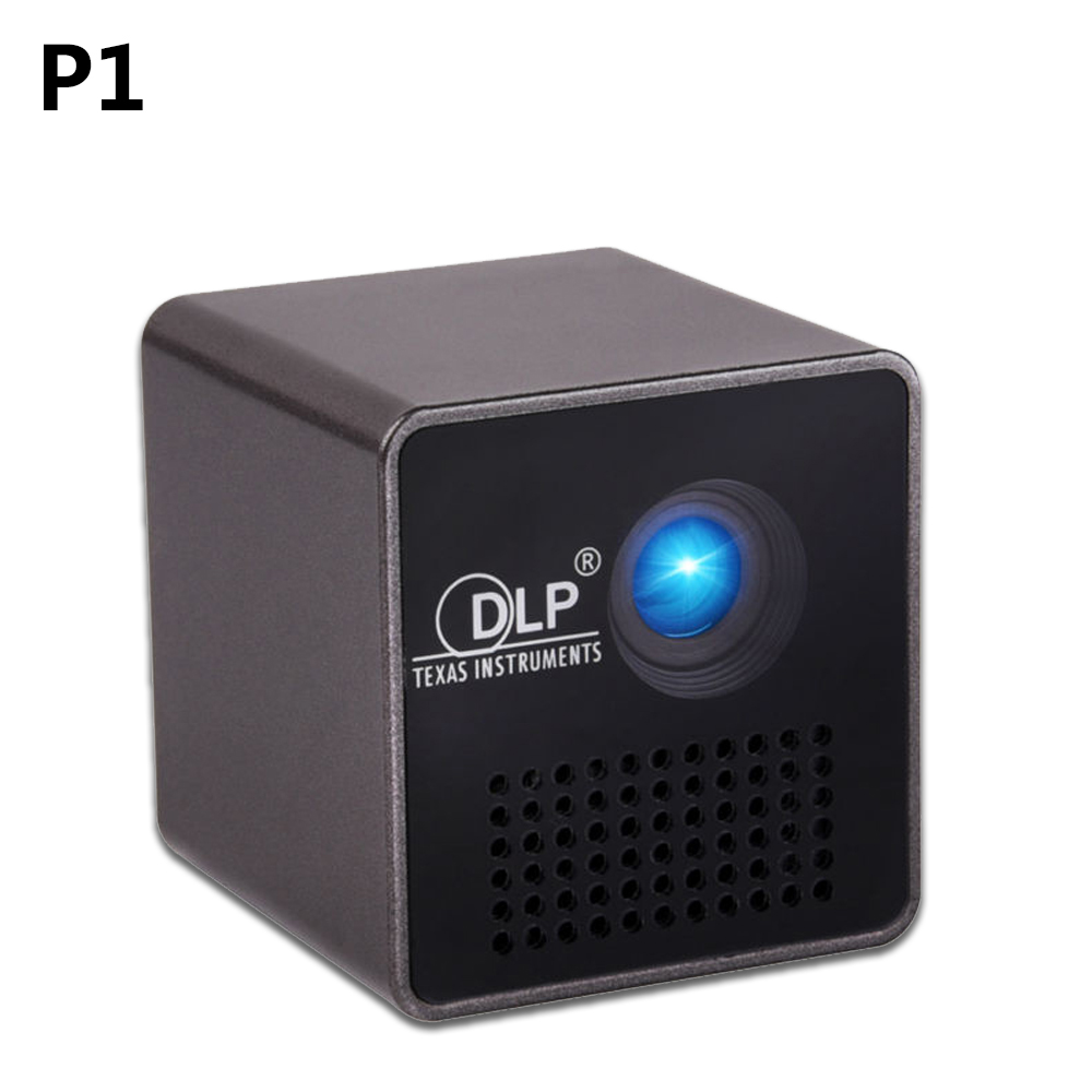 Original UNIC P1 Pico Portable DLP Projector Build-in Battery with TF slot 3.5mm for Home Outdoor Theater Cinema video beamer unic p1 p1h dlp projector 30 ansi lumen mini tiny handheld pocket proyector built in battery home cinema theater beamer usb tf