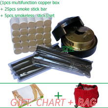 Wholesale Retail Traditional moxibustion tool multifunction beauty health moxa set 33pcs set