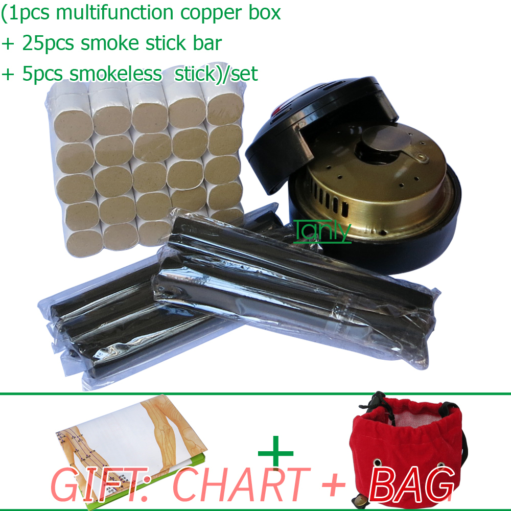 Wholesale Retail Traditional moxibustion tool multifunction font b beauty b font font b health b font