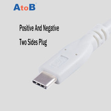 AtoB Cable USB 3.1 Type C Dash Charger Type-C Fast Charging Data Sync USB-C Cabel For Samsung Oneplus 3 One Plus Huawei Xiaomi