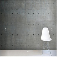Custom 3D Wallpaper Living Room Porous Concrete Cement Wall Texture Lime Waterproofing Mural Murals 3d Wall