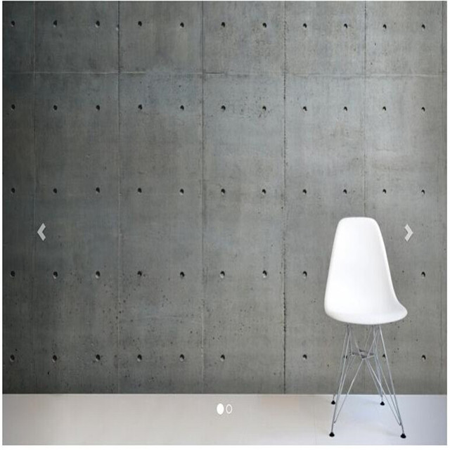 Beibehang Custom 3d Wallpapers Living Room Porous Concrete