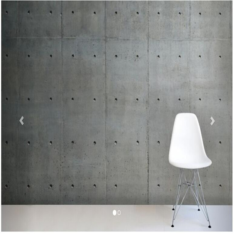 beibehang Custom 3D wallpapers living room porous concrete cement wall texture lime waterproof mural wallpaper home decoration