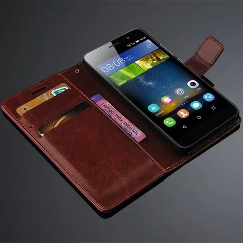 Funda Huawei P8 lite 2017 Crazy horse Funda Huawei P9 Lite 2017 Cuero - Accesorios y repuestos para celulares - foto 4
