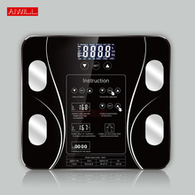 AIWILL Bathroom Scales LED Screen Body Grease Electronic Wei