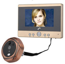 43 дюймов 165 градусов широкоугольный домофон дверной звонок