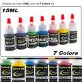 JX23XS2 Hao Tatuagem 7 Cores Pigmento Conjunto Completo 15 ml/garrafa Kit Tinta de Tatuagem para Body Art Tattoo Supplies