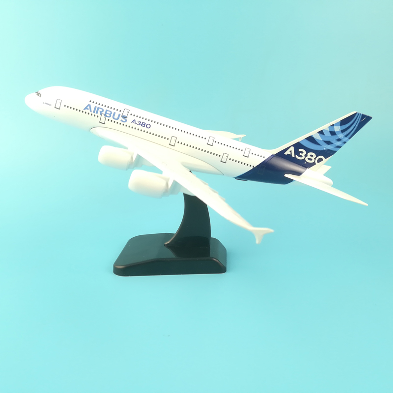 20cm Alloy Metal Airlines Airplane Model AIR BUS A380 United Arab A380 Boeing 777 Kids Toys Model Aircraft Collect Craft Gifts