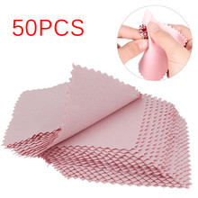 50PCS Lens Clothes Eyeglasses Cleaning Cloth Microfiber Phone Screen Cleaner Sunglasses Camera Duste