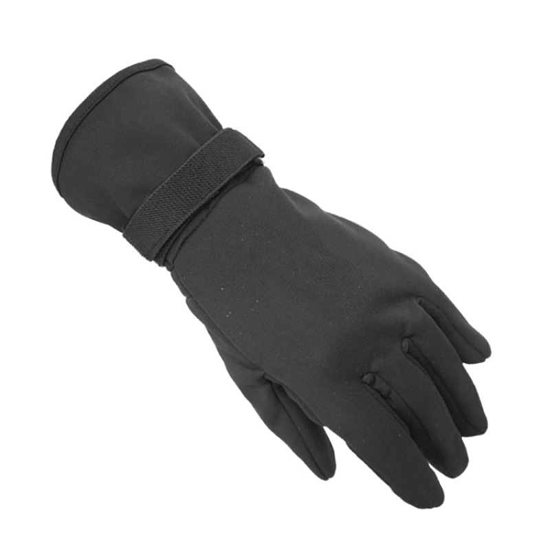 Unisex Winter Snow Gloves Full Finger Comfortable Warm Mittens With Wrist Leashes For Outdoor Sports Skating Skiing Riding
