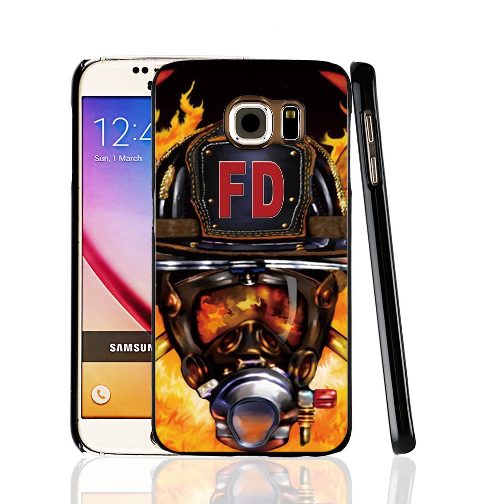 Case Design firefighter phone case : 09178 Firefighter Fireman Helmet cell phone protective case cover for ...