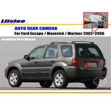 Car Rear View Camera / Back Up Reverse Parking Camera For Ford Escape 2001~2006 License Plate Lamp / HD CCD Night Vision
