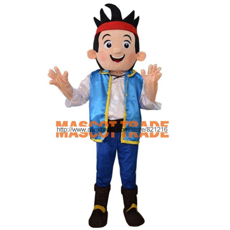 Высокое качество Новый Джейк талисман Neverland узко Pirate фантазии взрослый размер мультфильма костюм талисмана Бесплатная доставка