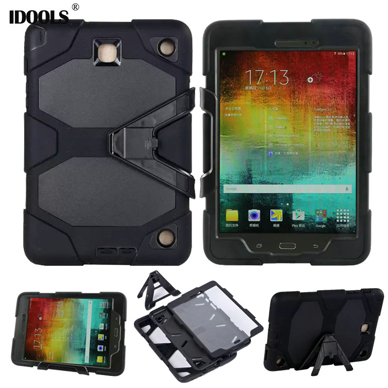 3 in 1 Hybrid Heavy Duty Shockproof Dual Layer Military Armor Back Cover Case For Samsung Galaxy Tab 4 8.0 Inch T330 T331 T335 3 in 1 hybrid heavy duty shockproof dual layer military armor back cover case for apple ipad mini 4 case cover tablet case gifts