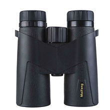 maifeng 10x42 Binoculars Waterproof Lightweight Compact telescope Prism Bak4 HD Bird Watching Hunting with Smartphone Adapter top level 8x56 binocular telescope bird watching waterproof fogroof bak4 binoculars full with the nitrogen for hunting