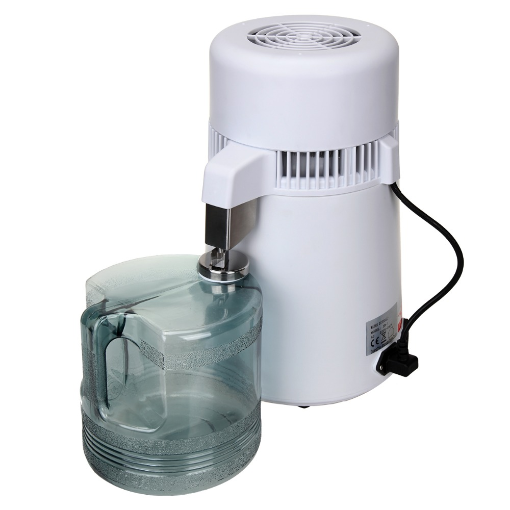(Ship from AU) 220V 4L Water Distiller Medical Dental Stainless Steel Inner Tank Pure Water Distiller Purifier Kitchen Office