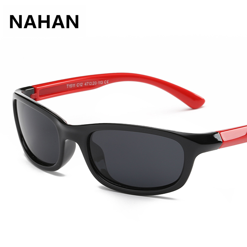 2016 New Designer Polarized Kids Sunglass UV400 Sun Protection Glasses for Children Polaroid Lens Sun Glasses