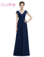 Real Photo HE08787NB Short Sleeves Mother Of The Bride Dress Women Low Stretch Long Navy Blue