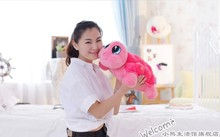 middle lovely turtle doll plush turtle toy turtle toy gift doll about 45cm pink
