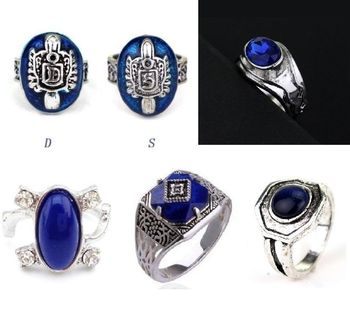 The Vampire Diaries Elena Caroline Damon Stefan Mikaelson Ring Classic Anillo Diario De Women And Men Zine Alloy Ring image