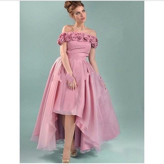 New Arrival Custom boat neck Off the shoulder A-Line Arabia long prom party gown 2018 vestidos para festa   bridesmaid     dresses
