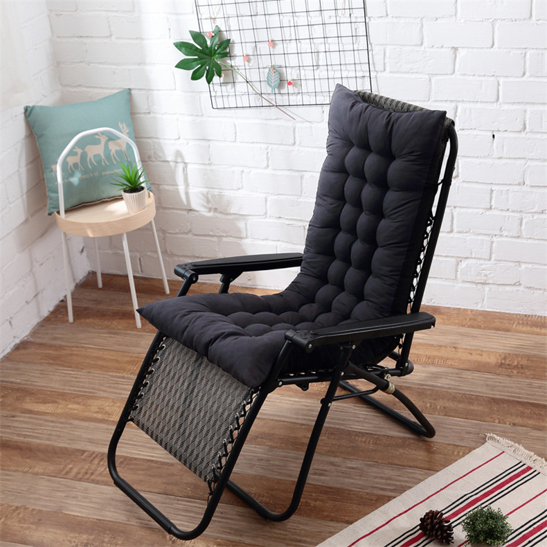 48x155cm Recliner Soft Back Cushion rocking chair cushions Lounger Bench cushion Garden chair cushion Long cushion