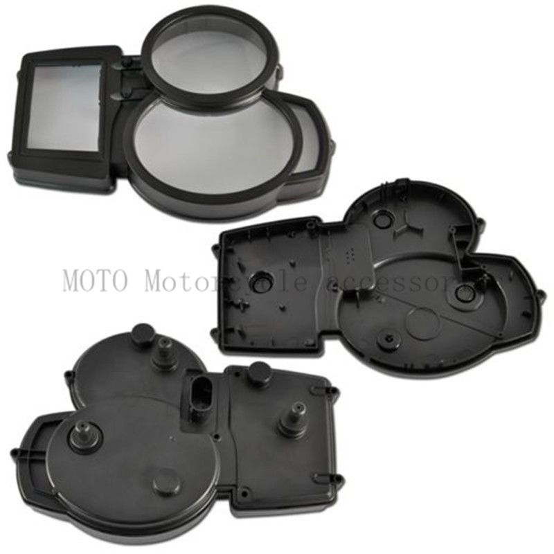 Speedometer odometer case Gauges Cover For BMW F800GS F800 GS Motorcycle Gauges Cover Case Housing Speedometer Instrument Gauges