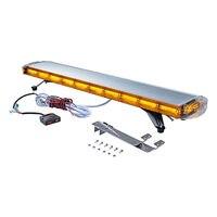 XYIVYG 47 22 COB LED Strobe Light Bar Emergency Beacon Warning ruck Plow Response AMBER Yellow Roof Top Lamp