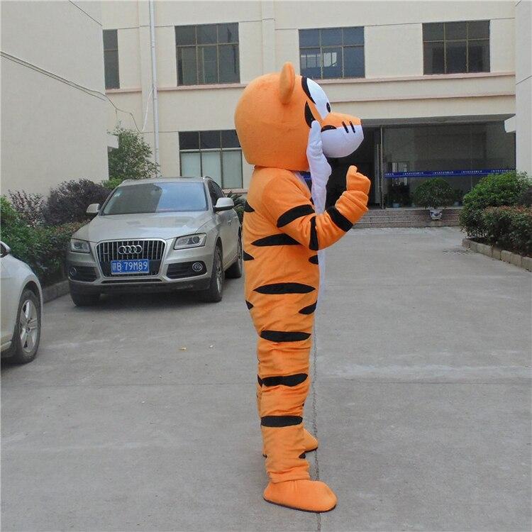 Costume de mascotte tigrou Costume de mascotte de bande dessinée personnage Costume de cosplay Costume de bande dessinée adulte taille jour de fête adulte - 5