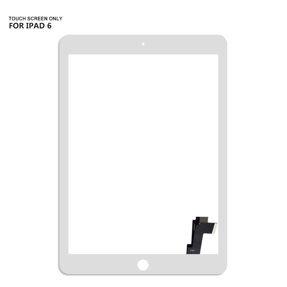 For iPad Air 2 Touch Screen Digitizer Glass Replacement For iPad 6 A1566 A1567 Touch Screen цена