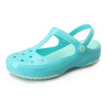 arrival 2017 summer sandals women clogs  multicolor garden shoes woman beach flat  clogs for women