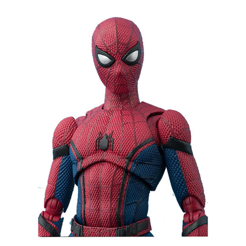 15 centímetros Marvel SpiderMan Spider Man Home coming BJD Spider-man Figura Modelo Brinquedos