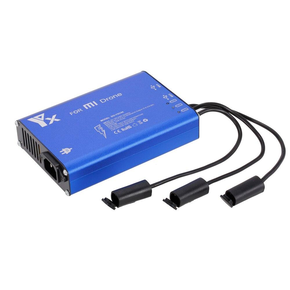 Chargeur de batterie Intelligent 5 en 1 à moyeu de puissance parallèle pour Drone XIAOMI MI 4 K 1080 P Drone quadrirotor FPV