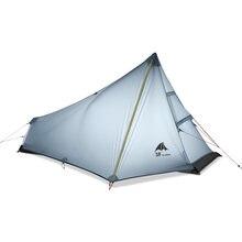 Сверхлегкая палатка 3f ul gear oudoor для кемпинга 1 человек