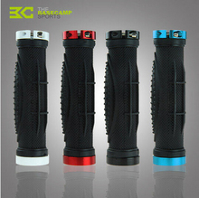 Basecamp Bike Grips Mountain Bicycle Grips MTB Locked Bicycle Handlebar Grips Material Alluminium Alloy Rubber
