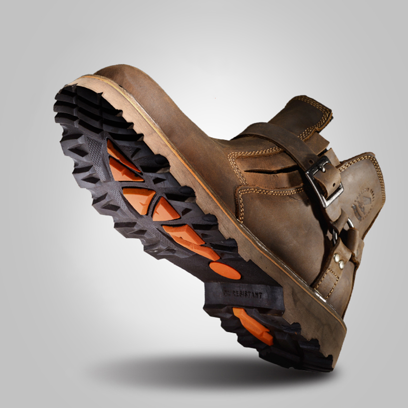 Brown Leder Stiefel Herbst Schuhe Werkzeug Echtem Cotton Männer Atmungsaktive Qualität Winter Hohe Plush Lining Lining Warme Cowboy Botas brown Zsuo Mode qCEwZnnp
