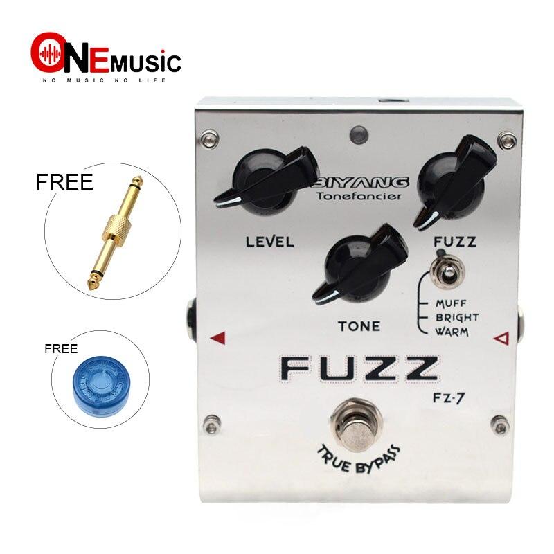 Biyang Tonefancier FZ 7 Guitar Bass Effect Pedal 3 Models Fuzz Effect guitar Pedal True Bypass